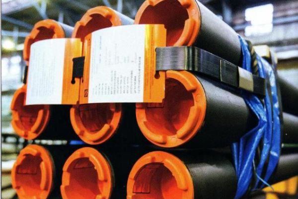 Heat-insulated pipes in light version